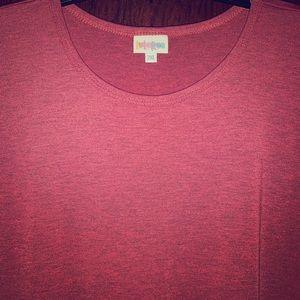 Lularoe Red Maria Maxi Dress size 2xl NWT